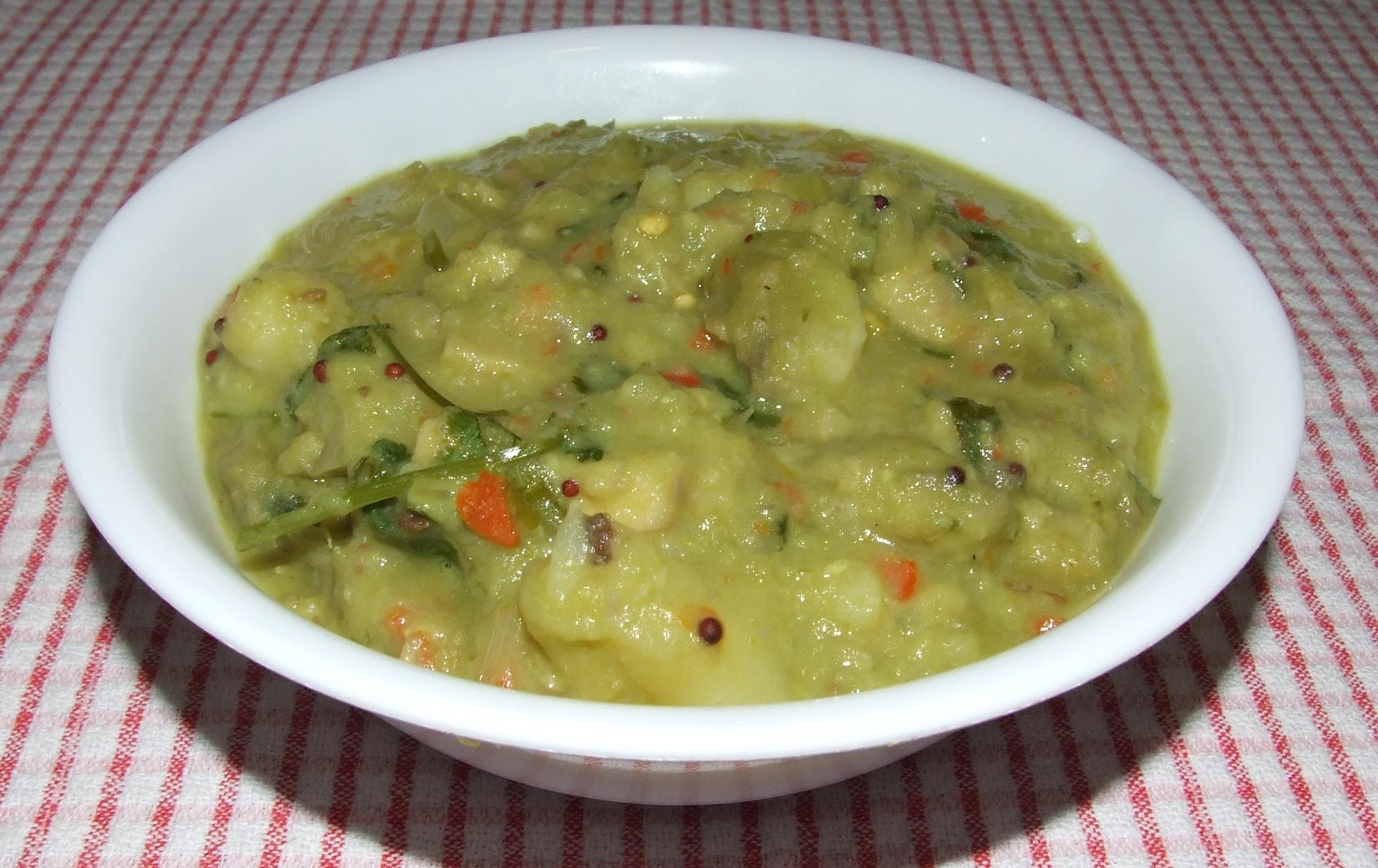 Potatoes Peas Curry