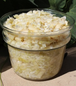 Completed Sauerkraut3 weeks