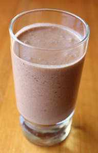 Raw Vegan Brazil Nut Chocolate Milk Shake